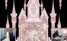 文艺风景婚礼邀请函文艺浪漫高端手机海报模板缩略图