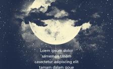晚安励志心灵鸡汤企业通用手机海报缩略图