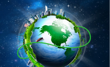 3.31地球一小时企业通用宣传海报缩略图